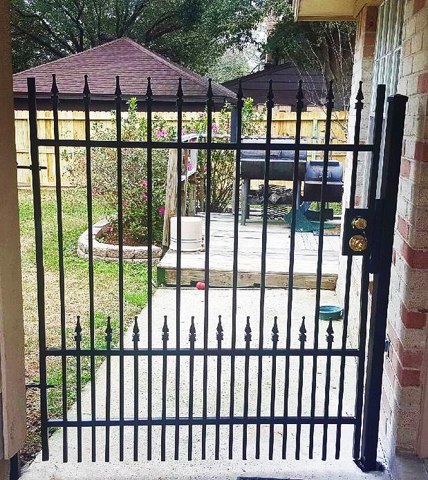 Frisco Wrought Iron Fence Companies   Metal Fence Companies Frisco   Steel Fencing   Aluminum Fencing Frisco