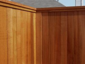 6 ft tall wood fence metal posts cedar fences western red cedar fences