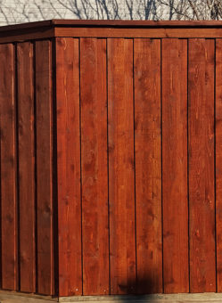board on board privacy cedar wood fence 8 ft tall board on board fences privacy wood fencing cap trim metal posts
