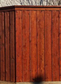 board on board privacy cedar wood fence 8 ft tall board on board fences privacy wood fencing cap trim metal posts