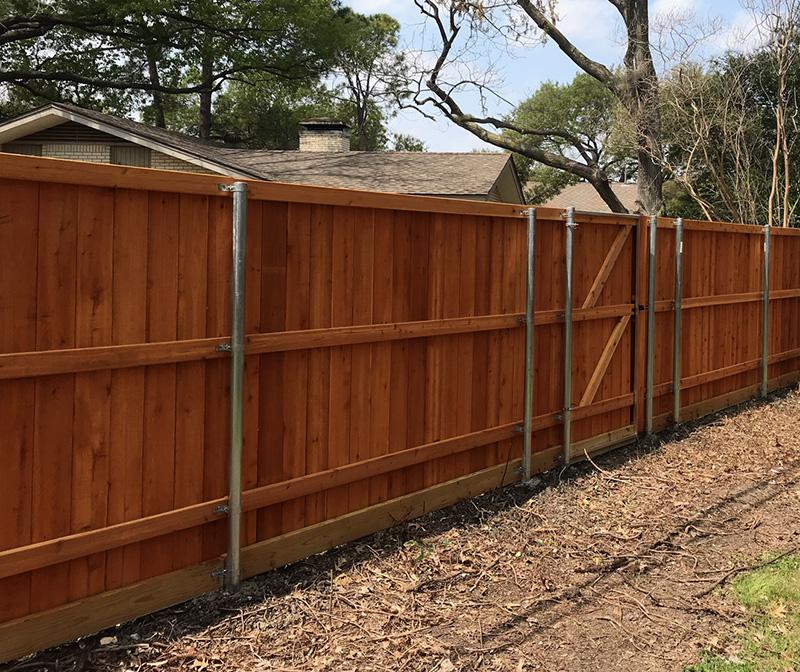 Premium Cedar Fence Gallery