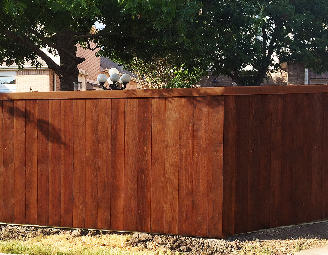 Metal post for wood fence - Call Now For A Free Cedar Wood Fence Estimate