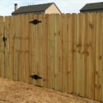 low cost fence installation cheap wood fences