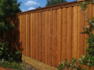 Pilot Point Fence Companies | Cedar Wood Fences | 6 ft Tall Metal Posts
