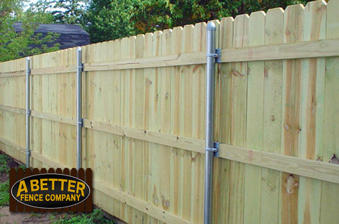 Low Cost Wood Fences A Better Fence Company Basic