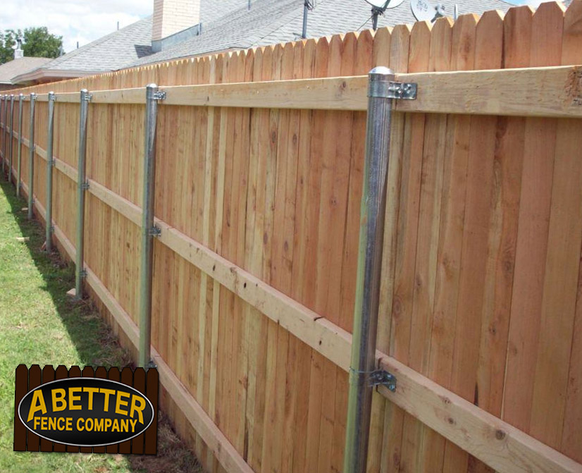 Cedar wood fence cost white horizontal with