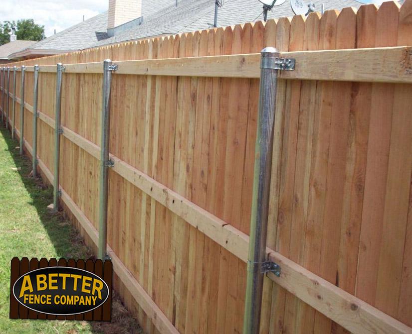 Cedar wood fence cost awesome standard cedar fence for Picket fence cost estimator