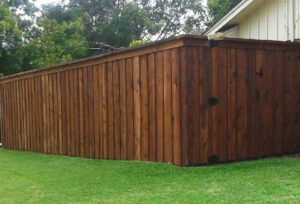 fence companies Denton tx cedar board on board fences