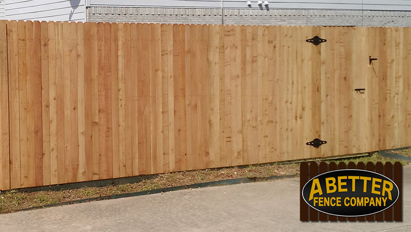 types of wood fences a better fence company wood fence options