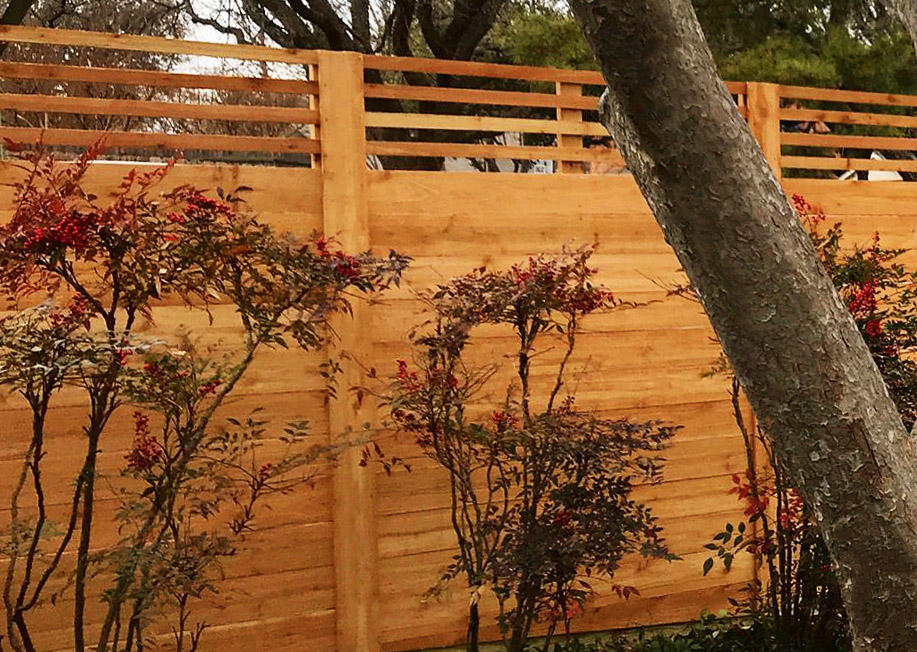 Custom Horizontal Fences