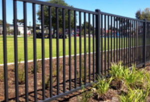 wrought iron fence metal fence