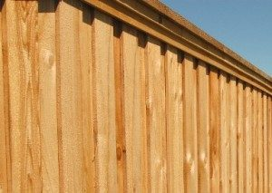 wood fences Plano fence company Plano tx wood fences board on board