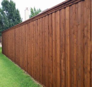 Denton Fence Companies | Privacy Wood Fences | 8 ft Tall Board on Board