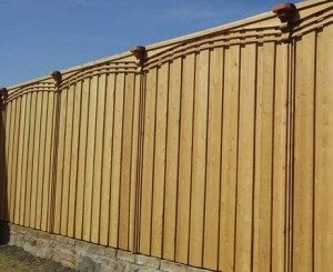 frisco fence companies privacy fences fence with arched trim