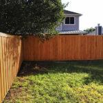 Wood Privacy Fence | Mckinney Fence Companies | Cedar Board on Board Fence