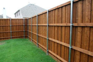 fence companies prosper board on board fences wrought iron fences prosper tx