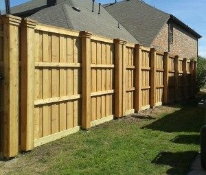 fence companies little elm wood privacy fences board on board boxed posts