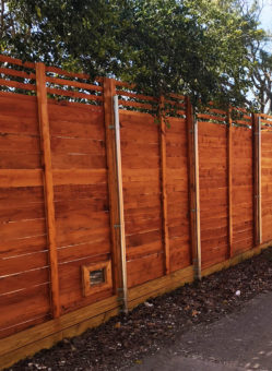 horizontal fence companies horizontal wood fencing horizontal cedar wood fences