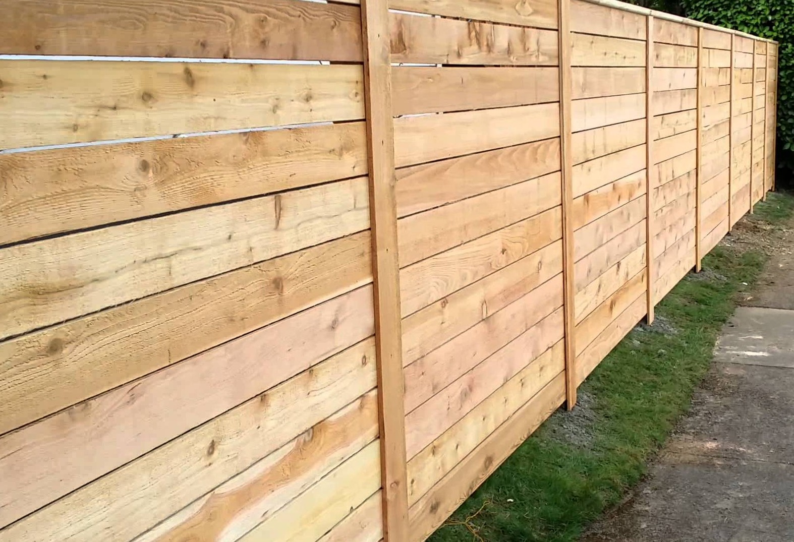 Call a better fence company today for a free horizontal wood fence estimate 940220 9099