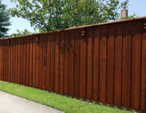 fence company little elm tx cedar wood fences board on board