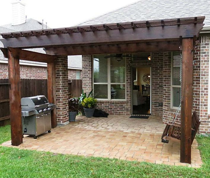 Arbors, Pergolas & Patio Covers Gallery - Patio Cover Company |Arbors Pergolas A Better Fence Company Aubrey