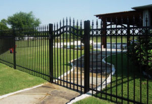 fence companies denton iron fences denton tx metal fences