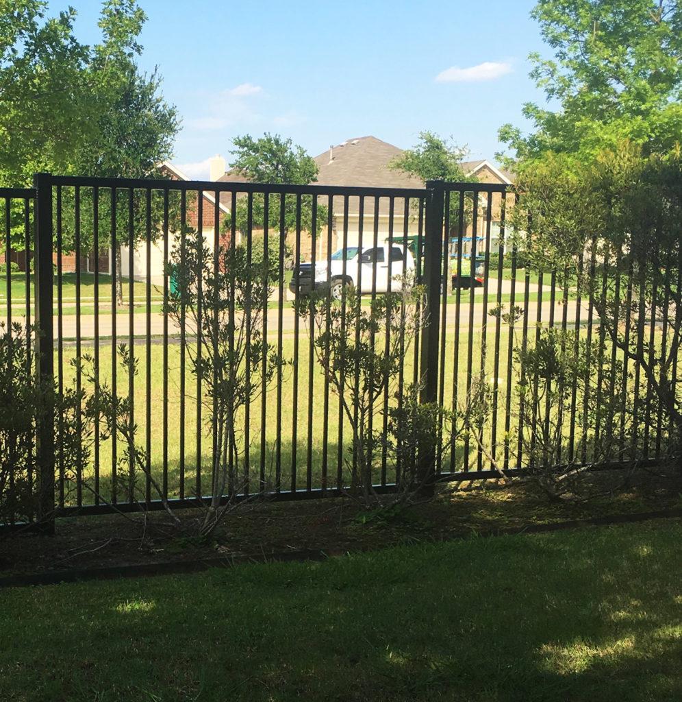 wrought iron fences metal fences