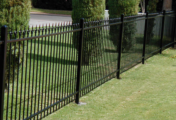 Wrought Iron Fences A Better Fence Company Metal