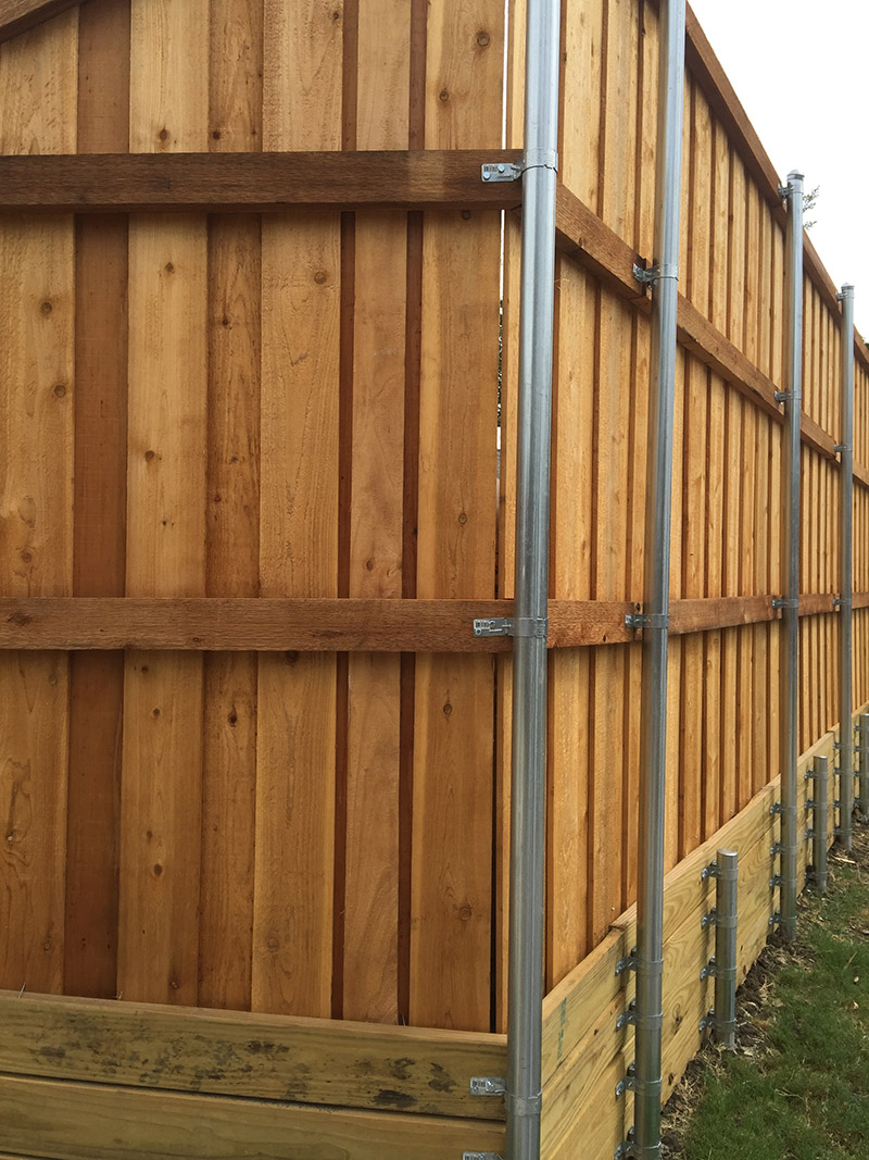 Privacy Fences A Better Fence Company Board On Board