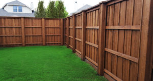 Privacy Fencing Plano | 8 ft tall board on board cedar wood fence 6 ft tall privacy fences metal posts