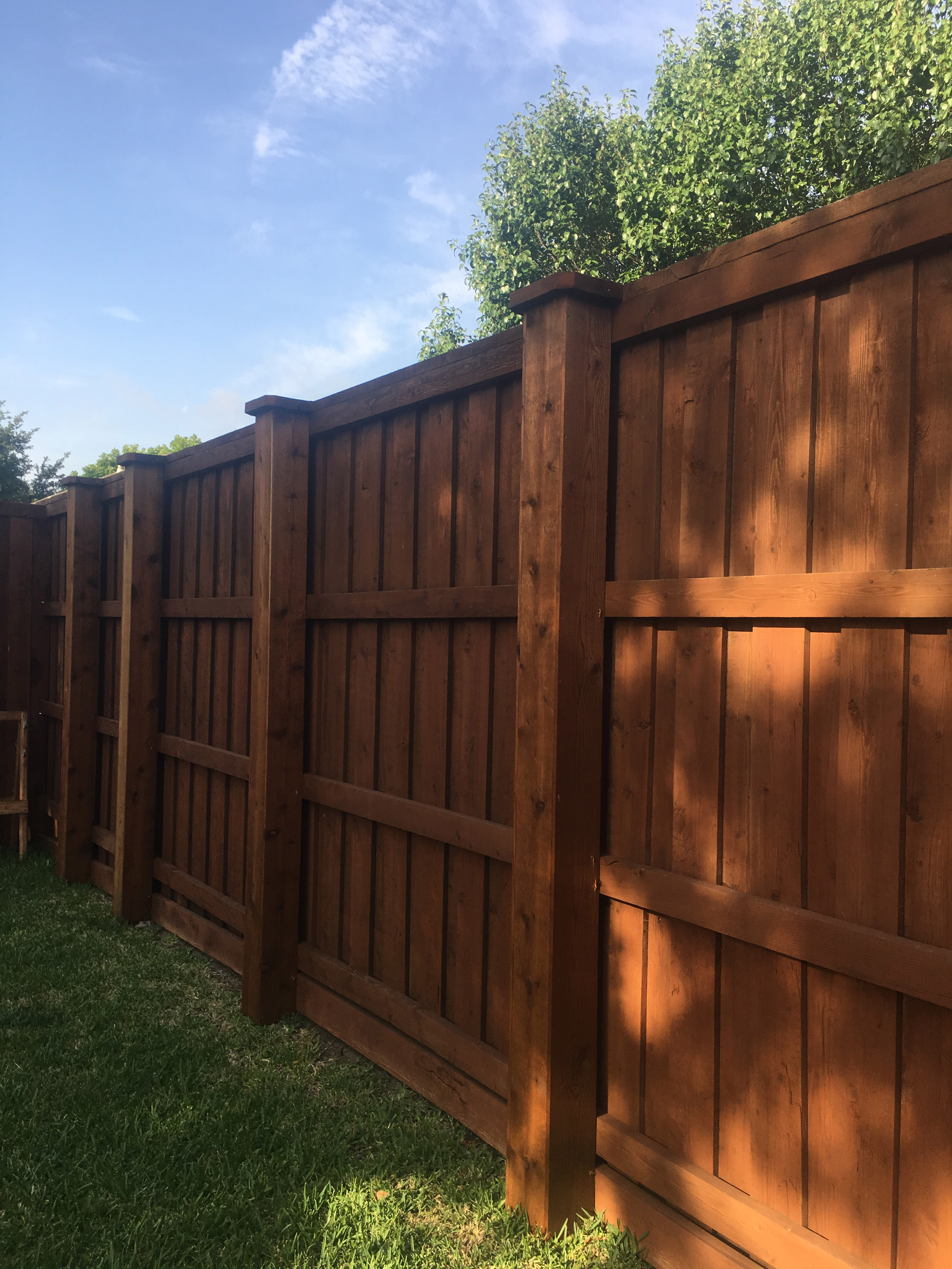Privacy Fence Companies Plano 8 Ft Tall Board On Board