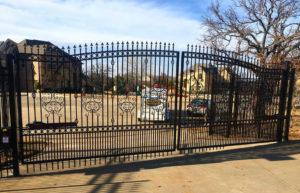 Driveway Gate Companies Mckinney | Solar Driveway Gate Installation Mckinney
