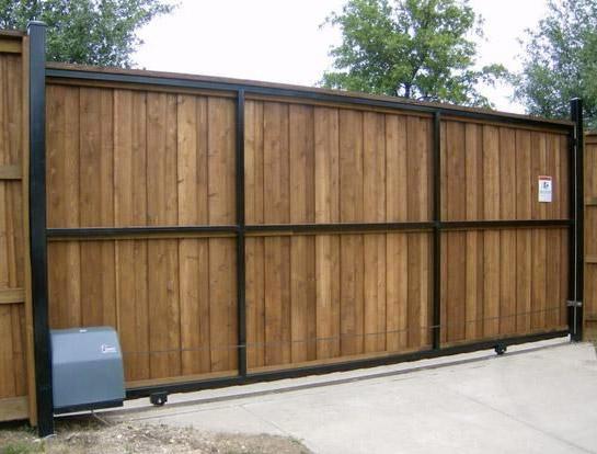 Mckinney Driveway Gate Companies A Better Fence Company Solar