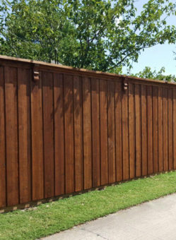 fence companies carrollton backyard fence replacement 8 ft board on board trim carrollton fence contractors